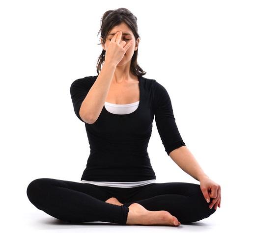 Nadi Shodhan pranayama, nadi shodhana pranayama, alternate nostril breathing yoga, alternate nostril breathing anxiety, alternate nostril breathing benefits