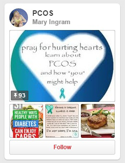 top pinterest pinboards on pcos