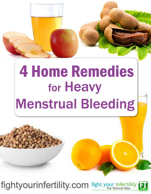 Natural Way To Stop Heavy Menstrual Bleeding