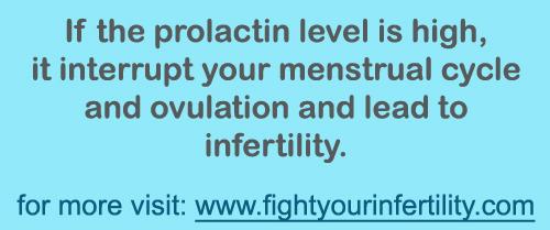 High Prolactin Levels, can high prolactin levels cause infertility, high prolactin levels ovulation, high prolactin levels menstrual cycle