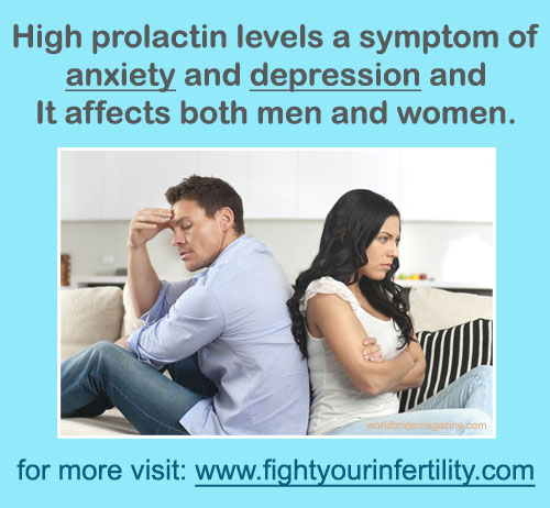 high prolactin levels symptoms, can high prolactin levels cause anxiety, can high prolactin levels cause depression