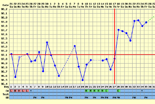 fertility charting ovulation and prediction, Fertility Charting, How to predict ovulation by charting, Ovulation Prediction Tests and Fertility Charting, Tips To Get Pregnant Faster