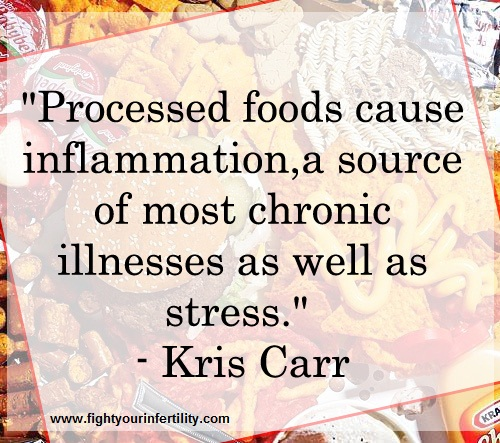 inflammation quotes, pain and inflammation quotes, Kris Carr quotes, processed foods cause inflammation, chronic disease quotes, chronic illness and stress, chronic illness quotes