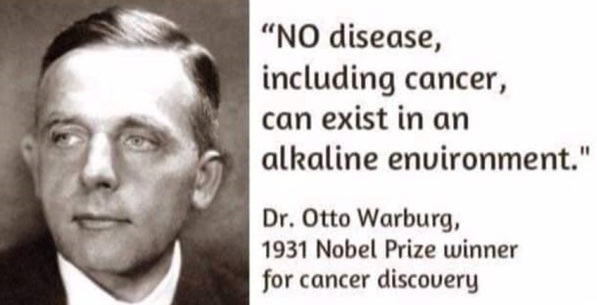 otto warburg, otto warburg quotes, alkaline quotes, diseases prevention quotes