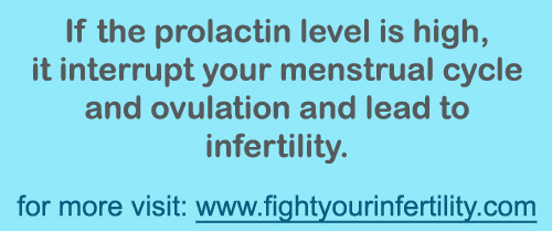 High Prolactin Levels, can high prolactin levels cause infertility, high prolactin levels ovulation, high prolactin levels menstrual cycle
