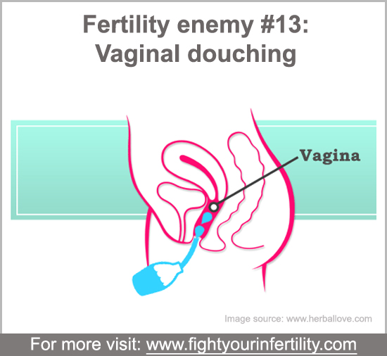 Douching May Increase Infertility, douching while trying to conceive, can douching be harmful