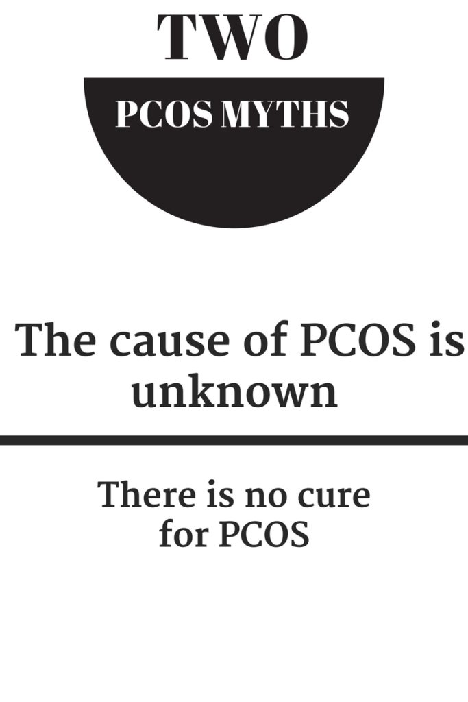 cure for PCOS, PCOS myths, causes of PCOS